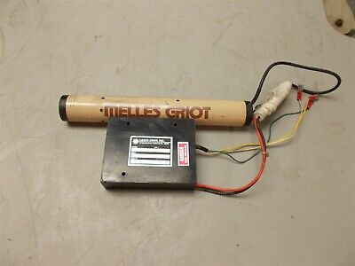 Melles Griot 05-LHR-911 Laser & 05-LPM-379-1 Power Supply