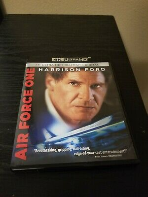 Air Force One 4K Ultra HD and Bluray No Digital Copy
