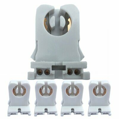 Non-shunted Turn Type T8 Lamp Holder JACKYLED 50pk UL Socket Tombstone for LED
