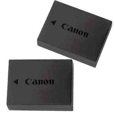 Genuine Canon T3 T5 T6 Camera Battery Pack LP-E10 LPE10 1100D (2 PACK) Lot 2X