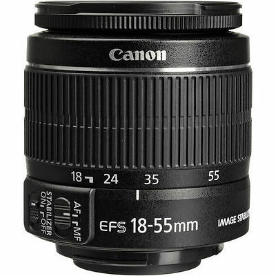 Canon EF-S 18-55mm f/3.5-5.6 IS II Autofocus Zoon Lens For Canon Rebel 2042B002