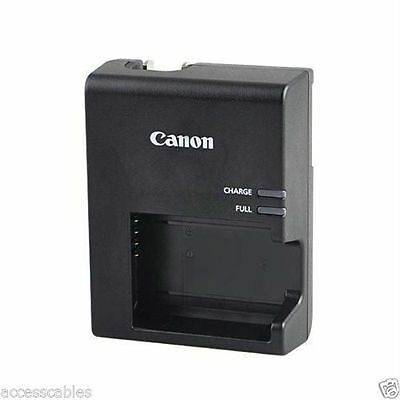 Genuine Canon Rebel T3 T5 T6 T7 Camera Charger LP-E10, LC-E10 1100D 1200D 1300D