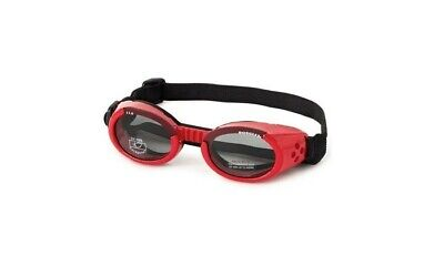 Doggles ILS Sunglasses - RED - MED- Dogs 20-60 lbs - FREE SHIPPING
