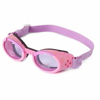 Doggles ILS Sunglasses/ Dog Protective Eyewear - PINK - LARGE- Dogs 50-100 lbs