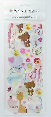 Baby Theme Polaroid Scrapbook Stickers Card Gift Decorations Photoprint 3 Sheets