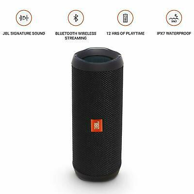 JBL Flip 4 Portable Bluetooth Wireless Speaker with charger OPEN BOX