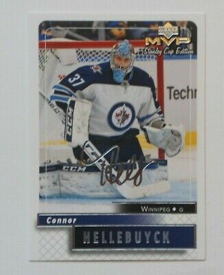 2019-20 UD MVP Stanley Cup Edition Silver Script CONNOR HELLEBUYCK #74 JETS