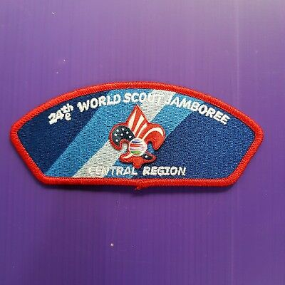 24th World Scout Jamboree 2019 USA Contingent PATCH / CENTRAL REGION
