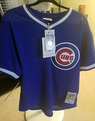 quality design 968b4 1cc82 AUTHENTIC CHICAGO Cubs Ryne Sandberg Jersey Mitchell & Ness ...
