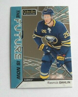 2018-19 OPC Platinum The Future Is Now - RASMUS DAHLIN (FN-15) SABRES