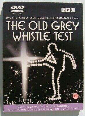 The Old Grey Whistle Test 2001 PAL 2 DVD set Springsteen NY Dolls Roxy U2 etc