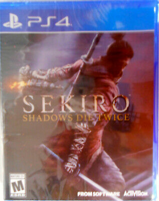 Sekiro [ Shadows Die Twice ] (PS4) PlayStation 4 New Factory Sealed