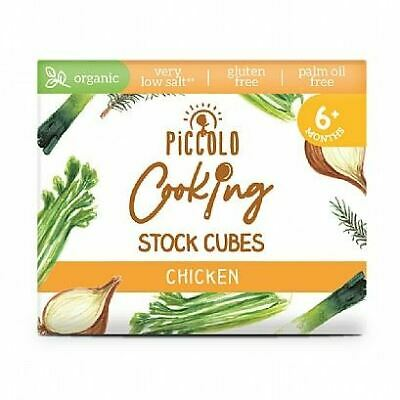 Piccolo Cooking Stock Cubes Chicken 6x8g (Pack of 15)