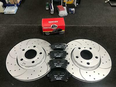 AUDI A8 3.0TDi QUATTRO D3 04-10 DRILLED GROOVED REAR BRAKE DISCS AND BRAKE PADS