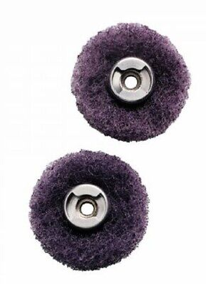 Dremel 512E EZ LOCK ABRASIVE FINISHING BUFFS 2Pcs 320-Grit *USA Brand