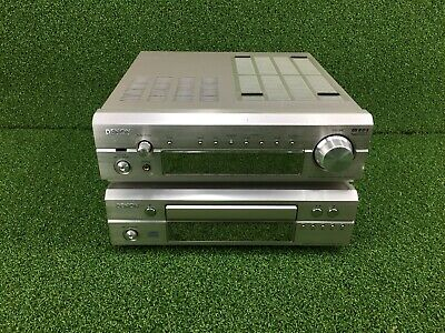 DENON DRA-F101 AMPLIFIER RECEIVER / DENON DCD-F101 CD PLAYER Phono Stage