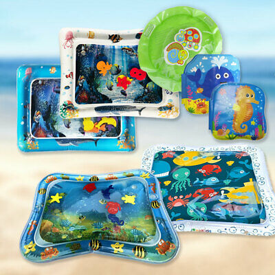 Inflatable Water Play Mat Infants Baby Toddlers Perfect Fun Best Tummy Time B0X3