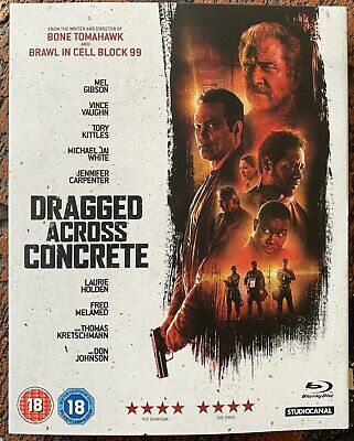 Dragged Across Concrete Blu-Ray Brand New Sealed