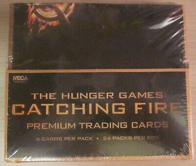 The Hunger Games - Catching Fire - Trading Card Box - ungeöffnet - NECA