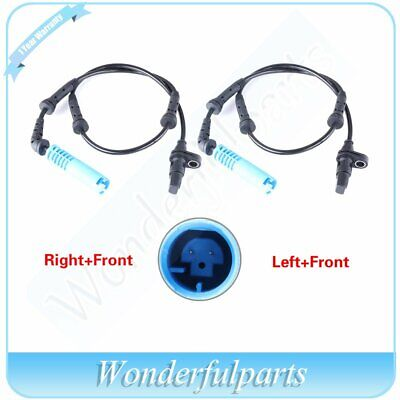 For BMW E46 325Xi 330Xi Pair Set Of 2 Rear ABS Speed Sensors 34 52 6 756 383