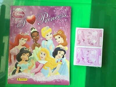 Box 50 Bustine figurine Panini Principesse Born  To  #Explore Disney