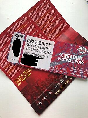 Reading Festival Early Bird Ticket