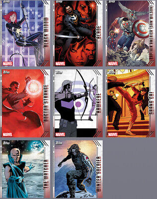 Topps Marvel Collect Card Trader Future Favorites Complete Set Award Ready