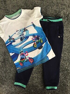 boys ted baker joggers and tshirt. age 2-3 years