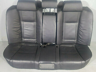 Bmw 730 E65 E66 Black Leather Back Seats