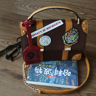 Hogwarts School Badge Wallet Shoulder Bag Handbags Women Handbag Gift New