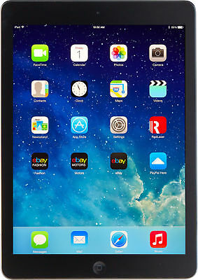 Apple iPad Air 32GB, Retina Wi-Fi only 9.7in Space Grey Grade A 1yr Warranty