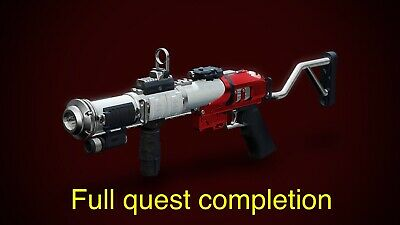 Ps4 Mountaintop Full Quest Recovery D2 Destiny 2 Mountain Top inc Fabled 2100