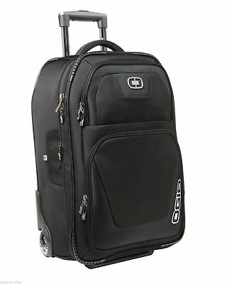 "OGIO Kickstart Expandable 22"" Black Travel Carry-On Luggage Bag  413007 New FREE"