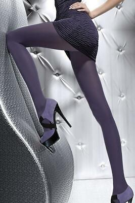 ♡♡COLLANTS Fiore Taille 3 Plum 60 Deniers Tights  Neuf♡♡MONDIAL RELAY♡♡