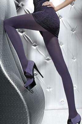 ♡♡COLLANTS Fiore Taille 4 Plum 60 Deniers Tights  Neuf♡♡MONDIAL RELAY♡♡