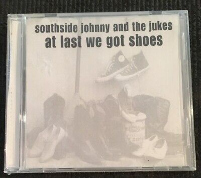 Southside Johnny And The Jukes - At Last We Got Shoes- Sealed CD - Rare