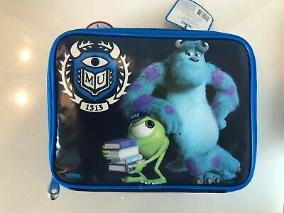 Thermos Disney Pixar Monsters University Insulated Lunch Bag NWT 100% PVC Free