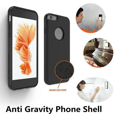 Nano Suction Anti-gravity Tech Magic Selfie Phone Case Cover For Smart Phone AU