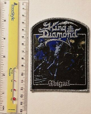 KING DIAMOND - Abigail-Limited edition patch -WOVEN SEW ON PATCH - freeshipping