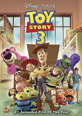 Toy Story 3 (DVD, 2010) New & Sealed Slipcover Included Free Shipping