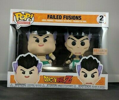 Funko Pop! Animation: Dragon Ball Z - Failed Fusion 2 Pack (Box Lunch Exclusive)