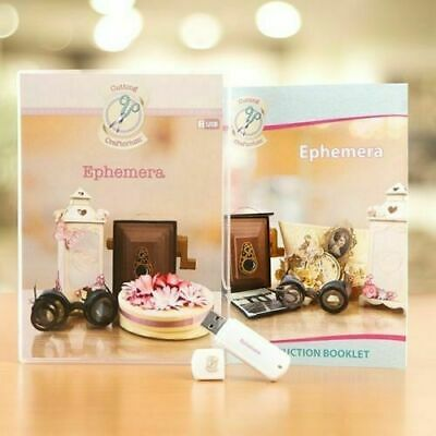 Cutting Craftorium Ephemera USB & Booklet - NEW ITEM