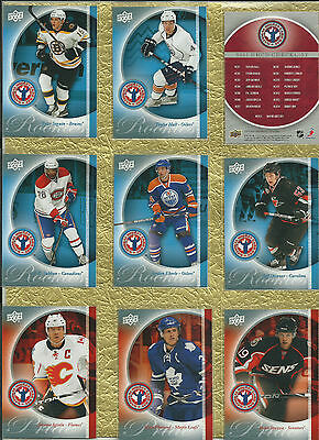 2011 Ud National Hockey Card Day -  Set Of16 Hockey Cards With P.k. Subban