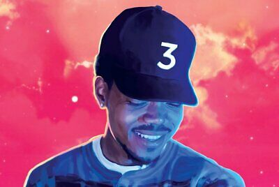 Chance The Rapper Coloring Book Poster 24 x 36