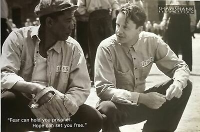 The Shawshank Redemption Sepia Quote Out of Print Poster 24 X 36