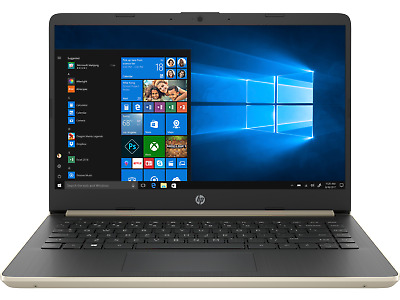 "2019 HP Touch-Screen Laptop 14"" - Intel Core i3 - 4GB  upto 3.9 GHz - 128GB SSD"