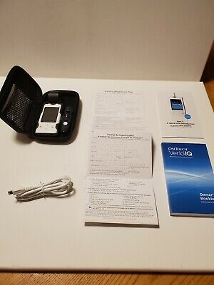 One Touch Verio IQ Meter Blood Glucose Monitoring Kit - Missing wall charger