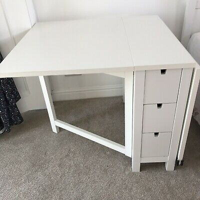 Ikea Norden Folding Dining Table 25 00 Picclick Uk