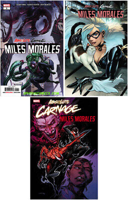 Absolute Carnage Miles Morales 1 Main & Variant Luppachino Codex Coello