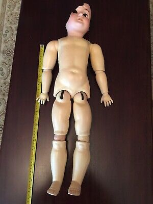 Antique German Made Bisque Doll Body Only.
